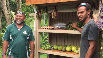"""Ein """"Zehntenhaus"""" auf Vanuatu"""