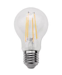 Luminea LED-Filament-Lampe mit Dämmerungssensor, E27, 8 Watt, 806 lm, warmweiß