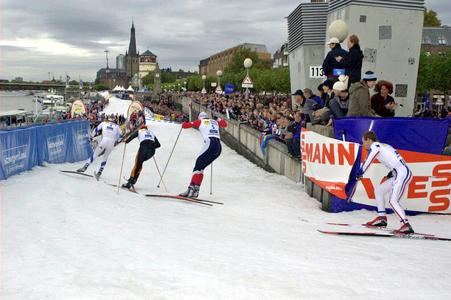 Pressefoto Weltcup Düsseldorf Sprint Herren