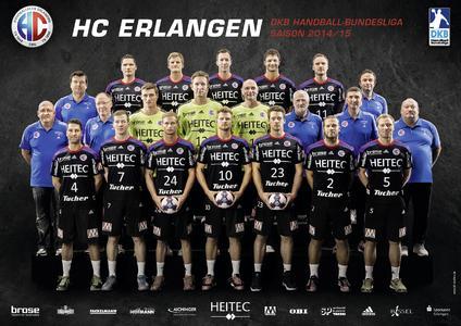DKB Handball-Bundesliga: HC Erlangen gegen TSV GWD Minden