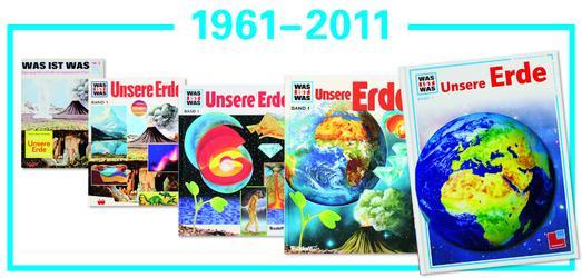 Historische WAS IST WAS Coverschau 1961-2011