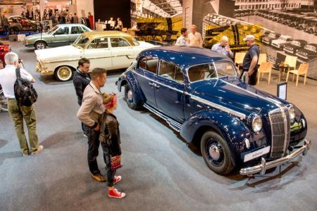 Die Flaggschiffe von Opel: Angeführt wird die Flotte vom legendären Vorkriegs-Admiral von 1937