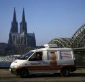 Yakult unterwegs in Köln