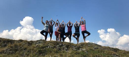 Yoga am Berg Wildschönau