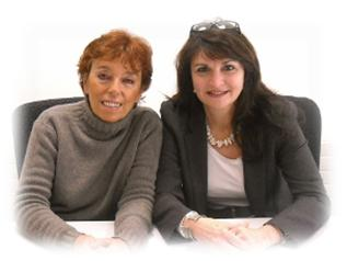 Annie Renault, links / Sylvia Müller Wolff rechts