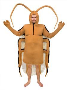Kakerlake Küchenschabe Kostüm Klassisch braun