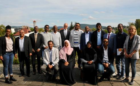 Eine Delegation aus der Republik Somaliland informierte sich in der Handwerkskammer Reutlingen über die duale Berufsausbildung / Foto: Handwerkskammer Reutlingen