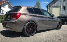 BMW 1 Series (F20) on Ultralight Project 3.0 rims with flash color finish