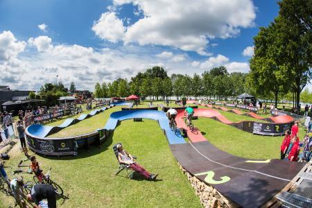 Fun-Track aufgebaut / Bild: © Holland Pump Battle