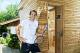 "Tommy Haas knows how important the topic of  regeneration is for professional athletes in particular. He is convinced that ""anyone who demands a lot from his body also has to give something back at every opportunity"". And so he increasingly harboured the desire to have his own sauna at home as well.  Image source: KLAFS GmbH & Co. KG"