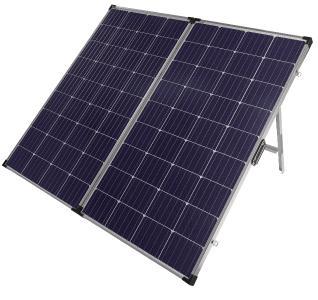 ZX-3070 1 revolt Faltbares mobiles Solar-Panel mit monokristallinen Zellen 260 Watt. Copyright: PEARL. GmbH