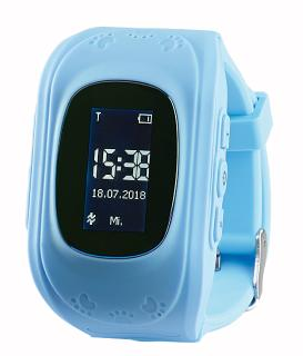 NX 4510  TrackerID Kinder Smartwatch PW 110.kids mit Telefon und SOS Funktion. blau / Copyright: PEARL.GmbH / www.pearl.de