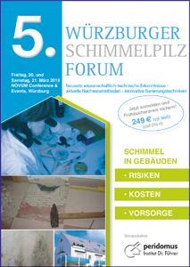 5. Würzburger Schimmelpilz-Forum - Programmcover