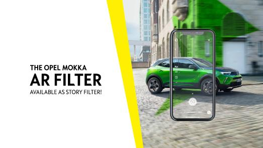 Opel Mokka Instagram AR-Filter
