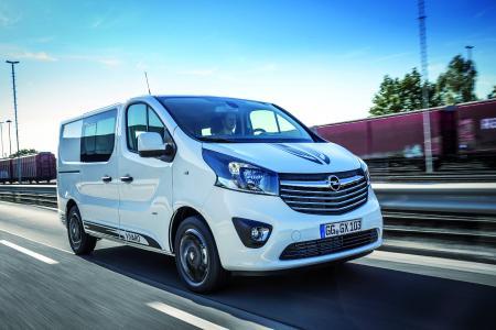 Alltagsheld: Der Opel Vivaro Sport vereint dynamisches Design mit der gewohnten Praktikabilität eines leichten Nutzfahrzeugs