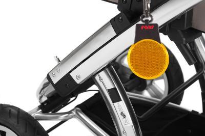 Reflektor am Kinderwagen