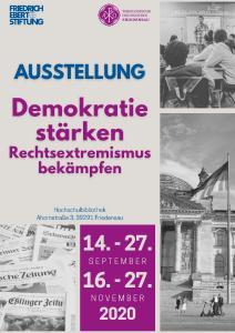 Plakat zur Ausstellung © Foto: thh-friedensau.de