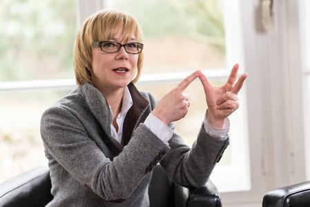 Geschäfsführerin Marzena Brinkmann