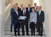 Klimaschutz-Unternehmen mit Peter Altmaier (Bundesminister für Wirtschaft und Energie), Copyright: BMWi / Andreas Mertens