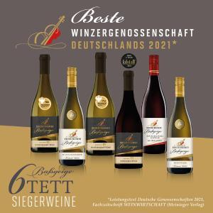 Winzergenossenschaft Oberbergen ist beste Winzergenossenschaft Deutschlands 2021*