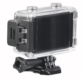 NX 6101 05 Somikon UHD Action Cam DV 3817 mit 2 Displays. WLAN und Sony Bildsensor / Copyright: PEARL.GmbH / www.pearl.de