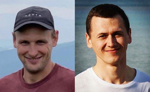 Nikolai Bolok (36 - links) und Miroslav Makarchuk (29) starben durch Explosion einer Granate bei einem Wanderausflug. © Fotos: privat