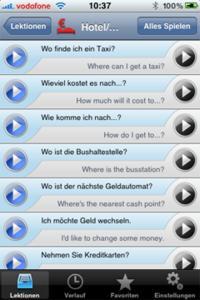 iSayHello German - English