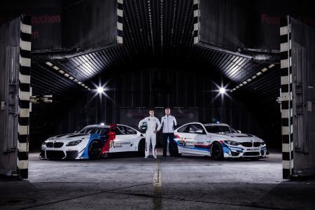 Fotoshooting, BMW M6 GT3, BMW M4 GT4, Jens Marquardt, Jesse Krohn