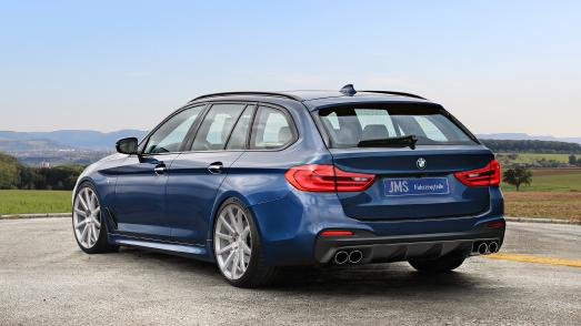 """body kit and 20"""" Cor.Speed on the BMW 5 series G31"""