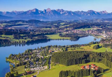 Camping in Bayern