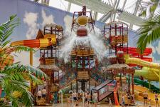 Germany's Tropical Islands Resort Welcomes a New Water Play Structure!