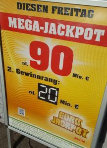 Neuer deutscher Lotterie-Rekord: 90 Millionen Euro gehen nach Baden-Württemberg