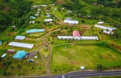 Campus der Navesau Adventist High School auf Fidschi © Foto: Adventist Record