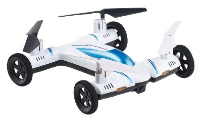 Simulus 2in1-Quadrocopter & Auto m. HD-Kamera, 2,4-GHz-Fernsteuerung, WLAN