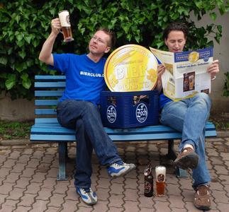 Matthias und Frank haben ein schönes Hobby, sie testen Bierspezialitäten
