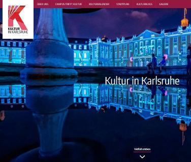 Relaunch Kultur in Karlsruhe Webseite