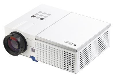 SceneLights LED-LCD-Beamer LB-9200 mit Media-Player, 1280 x 800 Pixel (HD) und 2.400 Lumen