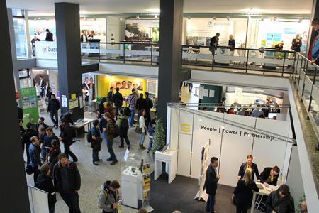 Mit rund 120 Unternehmen startet die Firmenkontaktmesse CHANCE in die 17. Runde
