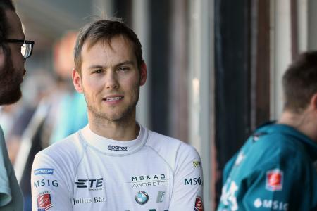 Tom Blomqvist, Formel-E-Test Valencia