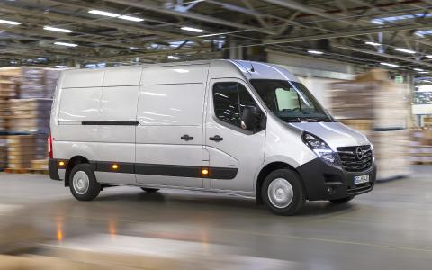 On Sale Now: New Opel Movano for €27,925 in Germany