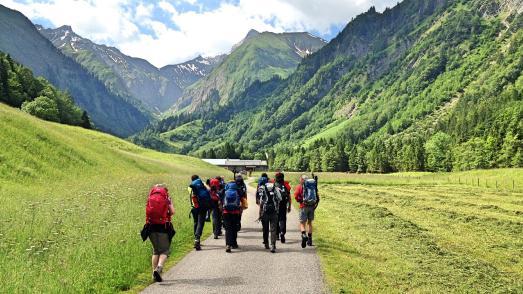 Pressebild Urlaubskino Alpenüberquerung