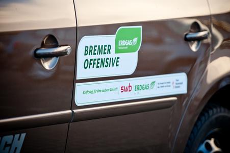 Bremer Offensive - Besser fahren mit Erdgas