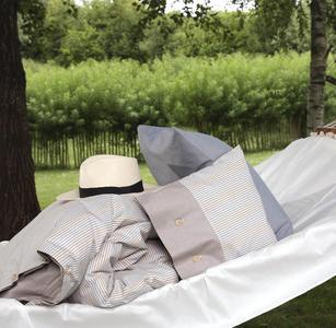 TruStuff Biobettwäsche - Außenaufnahme Wendebettwäsche Sweden Olivebrown