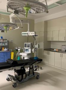 Einer der neuen ambulanten OP-Säle im Krankenhaus Waldfriede in Berlin