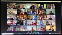 Videokonferenz des EmK-Kirchenvorstands © Foto: Klaus Ulrich Ruof, EmK-Öffentlichkeitsarbeit