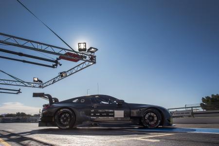 BMW M8 GTE, Test, Le Castellet