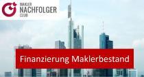 Finanzierung Bestandskauf und Übernahme von Maklerunternehmen