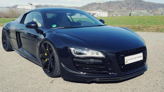 Corspeed Sports Wheels: Audi R8 tuned with Corspeed Challenge + KW Coil over kit