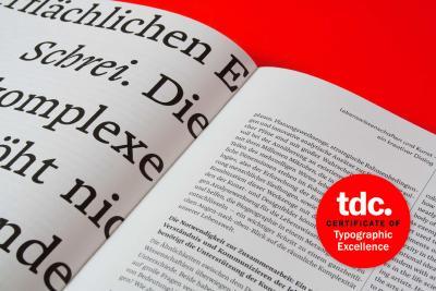 Muthesius Designer für Buchgestaltung international ausgezeichnet / Foto: Döge/Muthesius Kunsthochschule