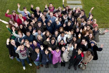Über 50 Studierende aus 22 Ländern nehmen am Internationalen Wintersprachkurs der Hochschule Osnabrück teil. Foto: Christa Henke